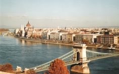 view of #Pest from the Buda side of the Danube - #Hungary #Budapest