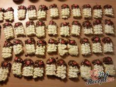 Pařížské rohlíčky   NejRecept.cz Holiday Decor, Biscuits