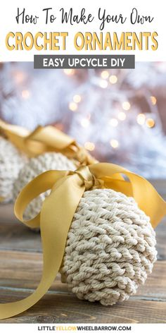 Christmas decorations easy to make for your rustic holiday tree. - Quick, Easy, Cheap and Free DIY Crafts Old Christmas, Simple Christmas, Christmas Crafts, Christmas Ideas, Homemade Christmas, Holiday Ideas, Christmas Stuff, Beautiful Christmas, Christmas Presents