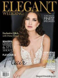 Winter/Spring 2018 issue of Elegant Wedding Magazine (Toronto) filled with inspiring real weddings, style shoots and wedding dresses. Bridal Show, Wedding Show, Wedding Bride, 2016 Wedding Dresses, Wedding Gowns, Beautiful Gowns, Beautiful Bride, Vintage Winter Weddings, Types Of Gowns