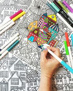 alisaburke- new coloring page in the shop and a BIG sale!