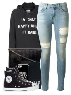 """I prefer using my computer than my phone?"" by polyvoreitems5 ❤ liked on Polyvore featuring Zoe Karssen, rag & bone and Converse"