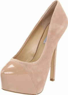 $99.95-$99.95 Steve Madden Women's Beautey Platform Pump,Blush Suede,8 M US -  http://www.amazon.com/dp/B0069L75RA/?tag=icypnt-20