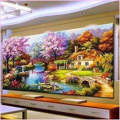 DIY 5D Diamond Painting Full Round Drill Kit Rhinestone Picture Art Craft for Home Wall Decor 12x16In Hens Wearing Hats