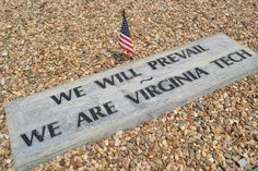 We are Virginia Tech.