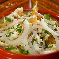 Chilaquiles with Roasted Tomatillo Salsa By Marcela Valladolid