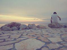 sunset/sea/Croatia/Nin