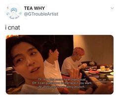 K Pop, Funny Kpop Memes, All The Things Meme, Winwin, Kpop Groups, Taeyong, Jaehyun, Nct Dream, Nct 127