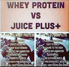 Why is Juice Plus+ Complete better then your average Protein. #completevswhey #juicepluscomplete