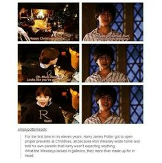 I love the Weasleys for this reason and many more. They are a family of huge hearts. Molly Weasley is probably one of the kindest people in the Wizarding world (unless you asked Fred and George... but that is their own fault...)