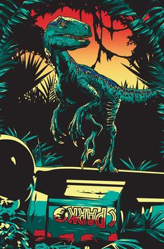 Jurassic World: Fallen Kingdom illustration for Empire magazine cover. Jurassic World Poster, Jurassic World Wallpaper, Jurassic World Dinosaurs, Jurassic World Fallen Kingdom, Jurassic Park World, Jurrassic Park, Park Art, Gravure Illustration, Dinosaur Wallpaper