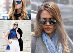 Trend Alert: Mirrored Glasses http://www.cbblogers.com/2013/11/mirroed-glasses/ #fashion