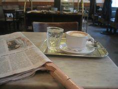 Wiener Melange im Kaffeehaus- Wien...