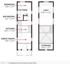 These are two 2014 Tumbleweed Elm Horizon Tiny House Models for sale. They have kitchens, great rooms, lofts and bathrooms and are selling as-is for nearly 40% off the original price tag. Plus, men…