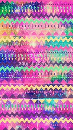Colorful Tribal Galaxy IPhone Android Wallpaper I Created For The App CocoPPa C2016hisonlygirlTM