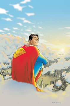 All Star Superman no. 1, Frank Quitely. Comic Book