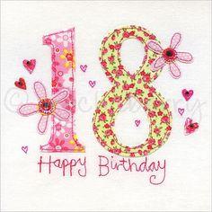 18 birthday cards | 18th Birthday Card | 18th Greeting Card | Eighteenth Birthday Card