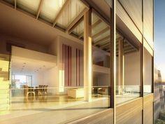 Movable Glass Walls Metal Shutter Houses / Shigeru Ban   ArchDaily