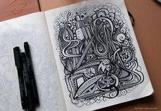 Sketchbook 2010 (vol. 2) by Irina Vinnik, via Behance