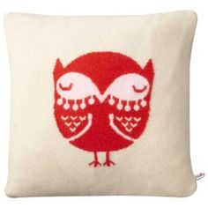 Donna Wilson Owl Cushion - Cream: Journalists download high res image here http://zero2one.pressloft.com/product.php?pid=577831=1