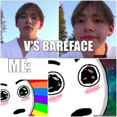 V's Bareface GOD BLESS♥