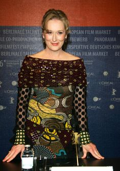 A Prairie Home Companion, Meryl Streep, Dresses With Sleeves, Long Sleeve, Beautiful, Blouse, Tops, Women, Fashion