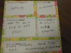 Scrapbook Mania from 2012 Summer Reading