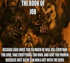 """Read """" Answer to Job"""" by Carl Jung. See the true nature of the biblical God from a psychologist's perspective. Atheist Quotes, Atheist Humor, Atheist Blog, Atheist Beliefs, Secular Humanism, Religion, Book Of Job, Religious People, God Loves You"""