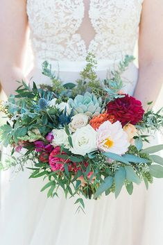 Gorgeous fall or winter bouquet with fuchsia & succulents for Secret Garden wedding in Phoenix, Arizona. Bouquet by Paradise Valley Florist, photo by Pinkerton Photography. Green Wedding, Floral Wedding, Fall Wedding, Wedding Bouquets, Wedding Flowers, Wedding Bride, Wedding Colors, Wedding Dresses, Wedding Trends