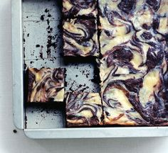 Find the recipe for Cheesecake-Marbled Brownies and other egg recipes at Epicurious.com