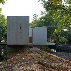House on a Stream by Architecture BRIO in Alibag, India
