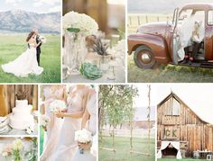 Wedding Photography Ideas : Rustic country wedding in Tahoe