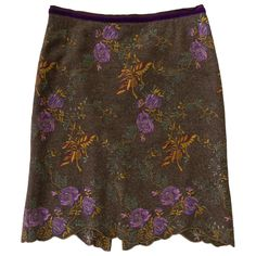 ETRO EMBROIDERED SKIRT on Vestiaire Collective