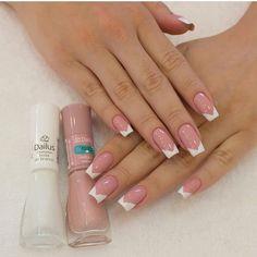 at home nails Shellac Nails, Nail Manicure, Nails Polish, Acrylic Nails, Classy Nails, Stylish Nails, Cute Nails, Simple Nail Art Designs, Nail Designs