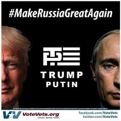 A collection of funny memes and viral images skewering Republican presidential nominee Donald Trump.: Make Russia Great Again