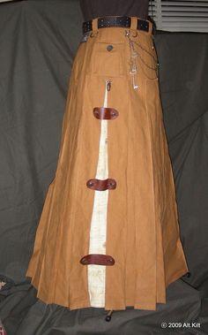 Ladies' Traveling Skirt | Alt.Kilt