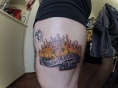 tough mudder tattoo | tattoo - Mudder Nation