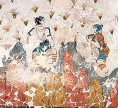Akrotiri fresco.