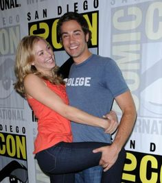 """Yvonne & Zachary aka Chuck & Sarah <3 Show Warner Bros that we want a Chuck Movie. Like the Official Facebook Page and start posting on the wall.  https://www.facebook.com/chuck  - Comment on the wall photos. (ex: #bringbackchuck ) - """"Like"""" fellow Chuck followers comments!  Haven't seen the show yet? Chuck is now available to watch on Netflix. Rate Chuck Five Stars on Netflix  - Nerd Herder https://www.facebook.com/notes/nerd-herd-chuck-the-movie/"""