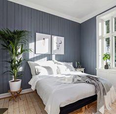 Skyggeblå Next At Home, Cottage, House Design, Colours, Bedroom, Interior, Furniture, Thoughts, Home Decor