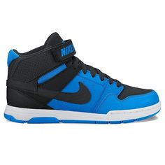 Nike Mogan Mid 2 Jr. Kids' Mid-Top Skate Shoes, Boy's, Size: 12, Dark Blue