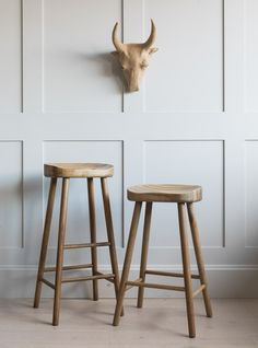 Weathered Oak Stool buy online now from Rose and Grey, eclectic home accessories and stylish furniture for vintage and modern living. Wooden Breakfast Bar Stools, Wooden Kitchen Stools, Island Stools, Stools For Kitchen Island, Wooden Bar Stools, Wood Stool, Stool Chair, Wood Counter Stools, Petits Bars