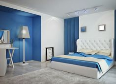 Typical Modern Blue Bedroom Ideas - If you have blue as one of your favorite colors, then having a blue bedroom ideas for your room might be best
