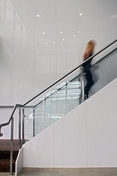 Internal lobby stair by PACEARCHITECTS