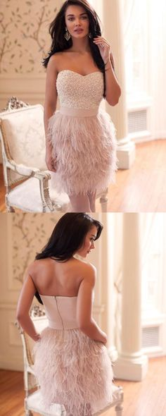 Pink Homecoming Dress,Homecoming Dresses,Homecoming Gowns,Short Prom Gown,Sweet 16 Dress