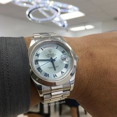 Gents Watches, Rolex Watches, Watches For Men, Wardrobe Boxes, Rolex Day Date, Gents Fashion, Watch 2, Telling Time, Patek Philippe