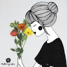 A Florigrafia - por Natália Viana e Rafaela Melo