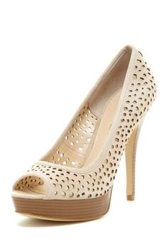 Enzo Angiolini Sully Platform Pump by Sunday Shoe Steals on @HauteLook