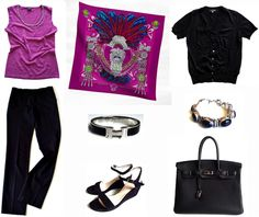 MaiTai's Picture Book: Reader's style challenges and requests ~ how to combine 'Mexique' in fuchsia/chartreuse/gris