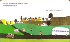 from 'bus stops' by Taro Gomi